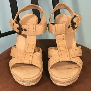 a1f354bc71bc3 Women s  Pesaro Wedge Sandals 7 (37.5)